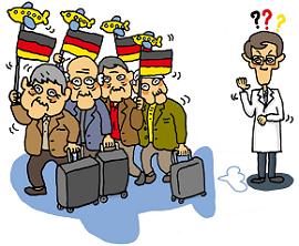 何故に老人がドイツに(W270)